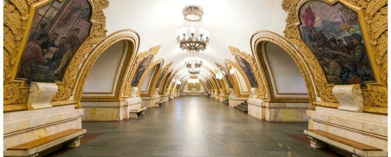 Per metro Moskou ontdekken. Je gelooft je eigen ogen niet!