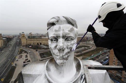 Rusland | Wie wil er Gagarin zien?