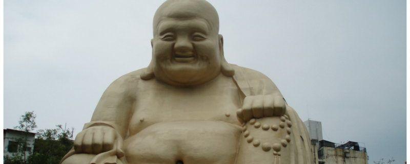Taichung (Taiwan) de stad waar Boeddha je toelacht
