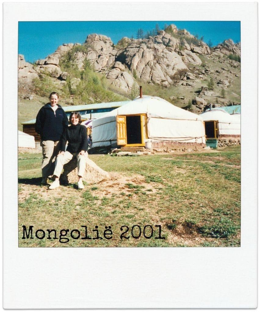 Trans Mongolië Express ger