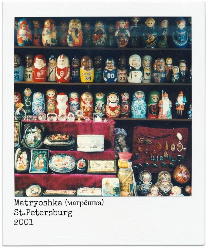 Trans Mongolië Express Matrusjkas
