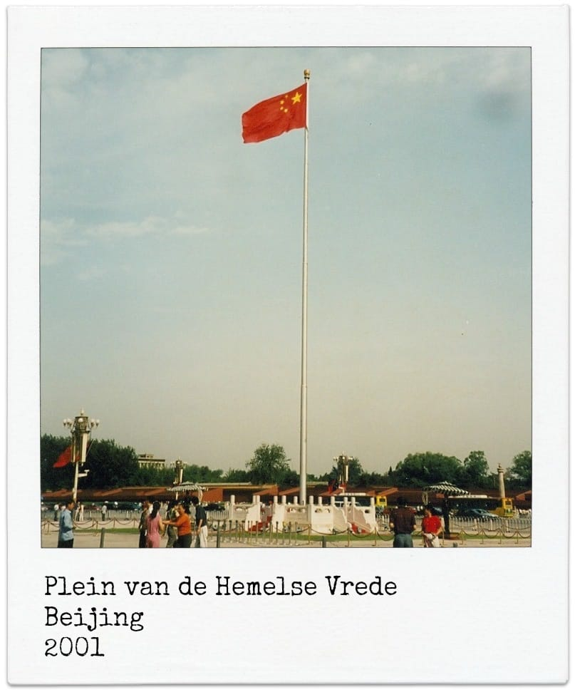 Trans Mongolië Express Plein van de Hemelse Vrede