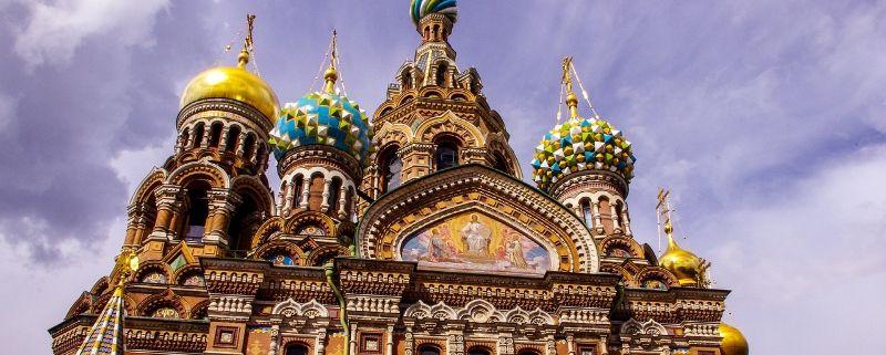 Rusland   Slenterend St.Petersburg verkennen