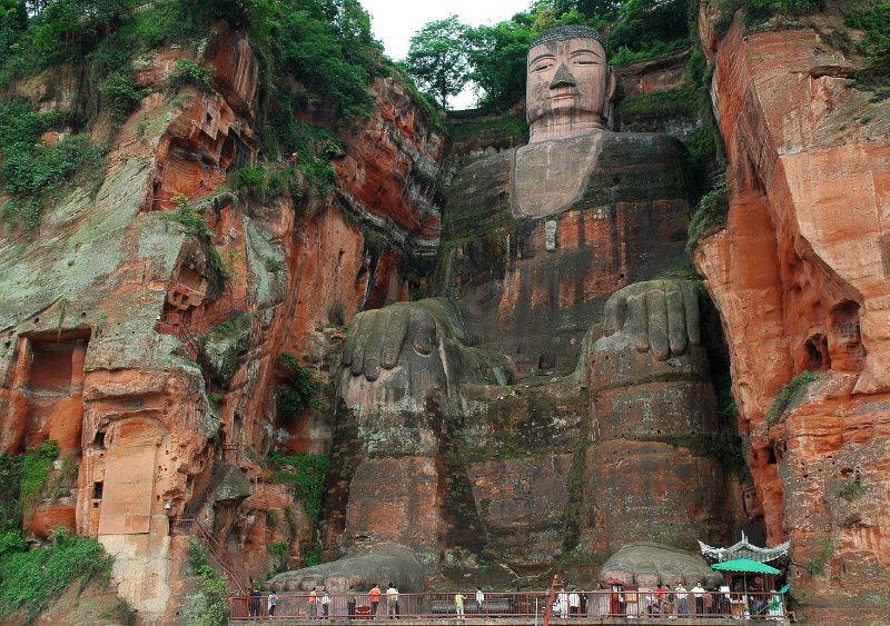 buddha leshan China