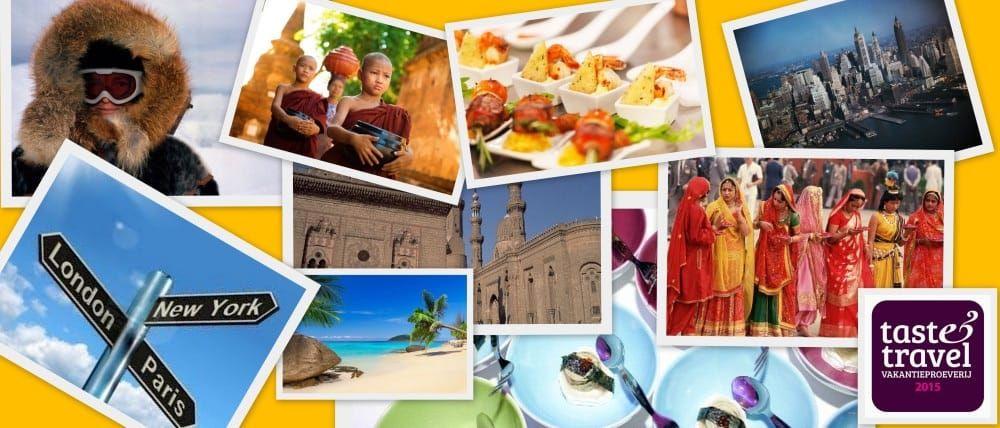 Win 2 vrijkaarten voor Taste & Travel Vakantie proeverij