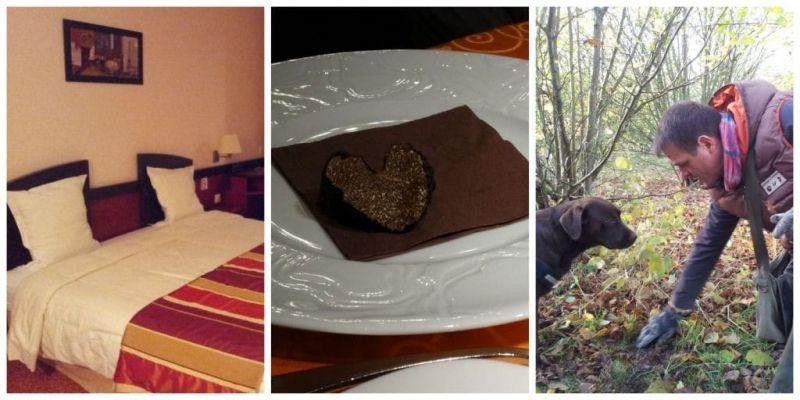 Truffels eten in Frankrijk, eerst jagen, dan smullen