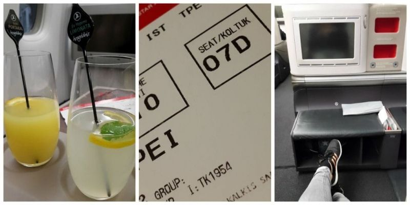 Turkish Airlines Amazing Business Class
