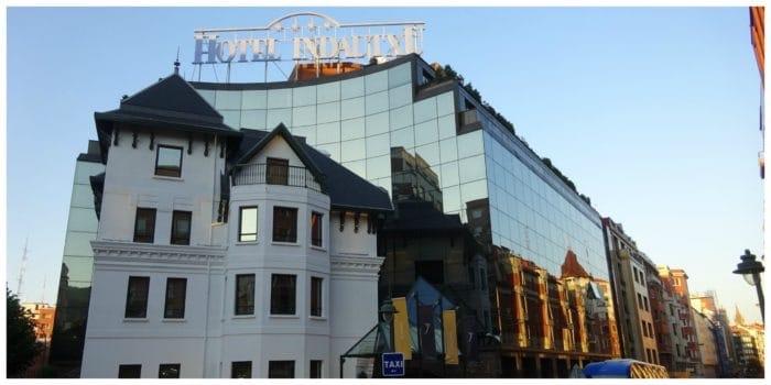 Silken Indautxu Hotel Bilbao, overnachten in de gelijknamige wijk Indautxu