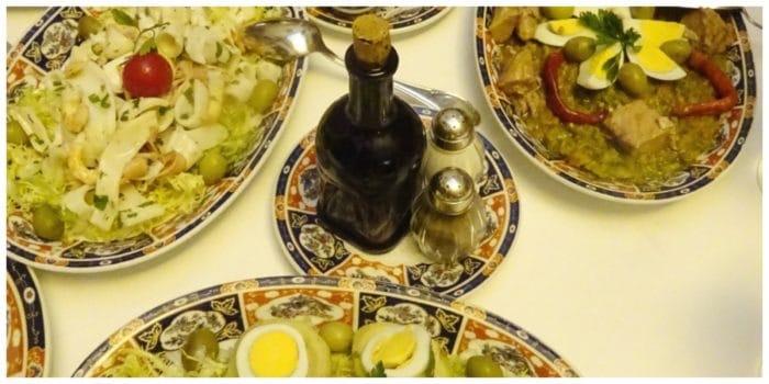 Dar El Jeld Tunis, lunchen alsof je bij de Tunesiërs thuis bent
