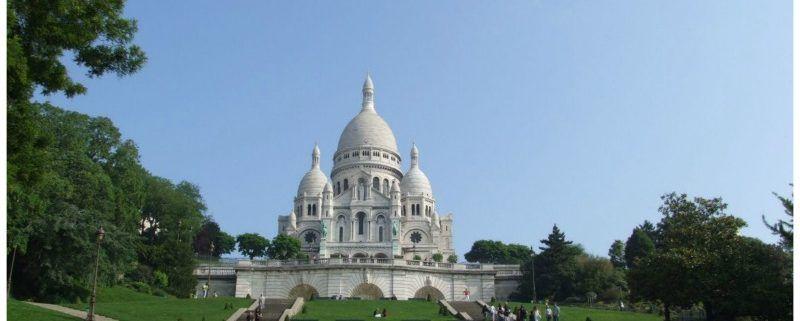 Parijs, met mijn verkering naar de lichtstad