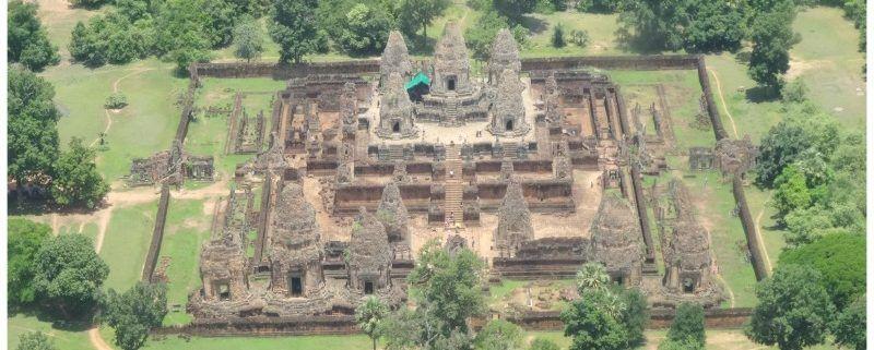 22-daagse route: geheel over land Thailand & Cambodja door