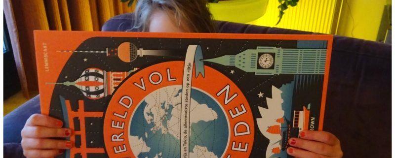 Een wereld vol steden, een rijk geïllustreerd boek vol citytrip inspiratie
