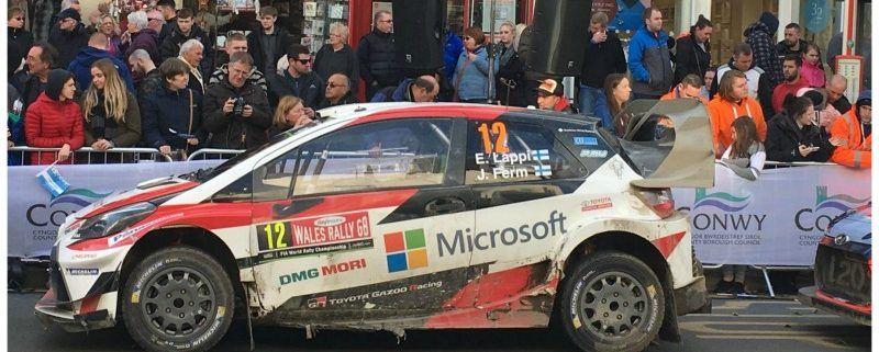 Wales bezoeken voor het FIA World Rally Championship