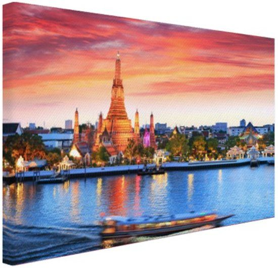 Fotocadeau CanvasCompany Bangkok Wat Arun Thailand