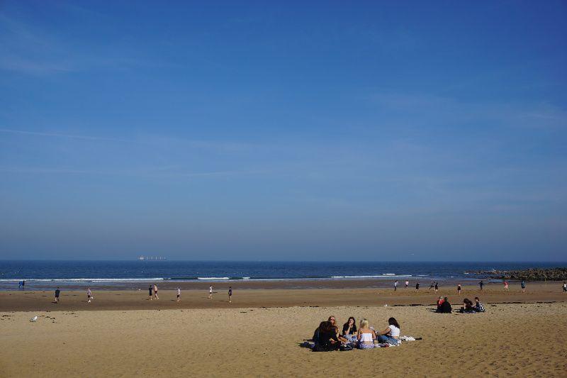 Verenigd Koninkrijk Noord Engeland Newcastle Tynemouth beachlife