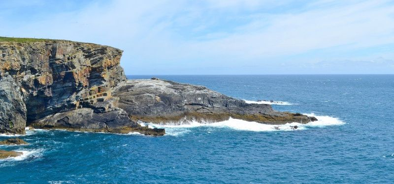 Ierland ruige kust