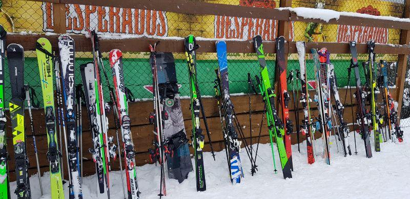 ski stalling
