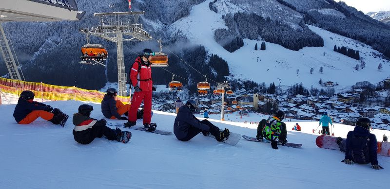 Oostenrijk Viehhoven Landal Rehrenberg snowboard klasje