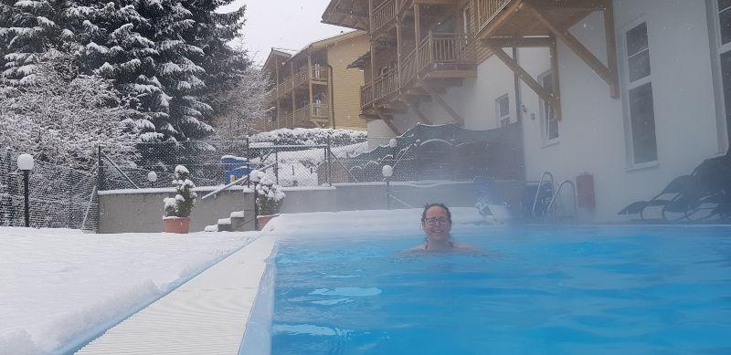 Oostenrijk Viehhoven Landal Rehrenberg zwembad buiten