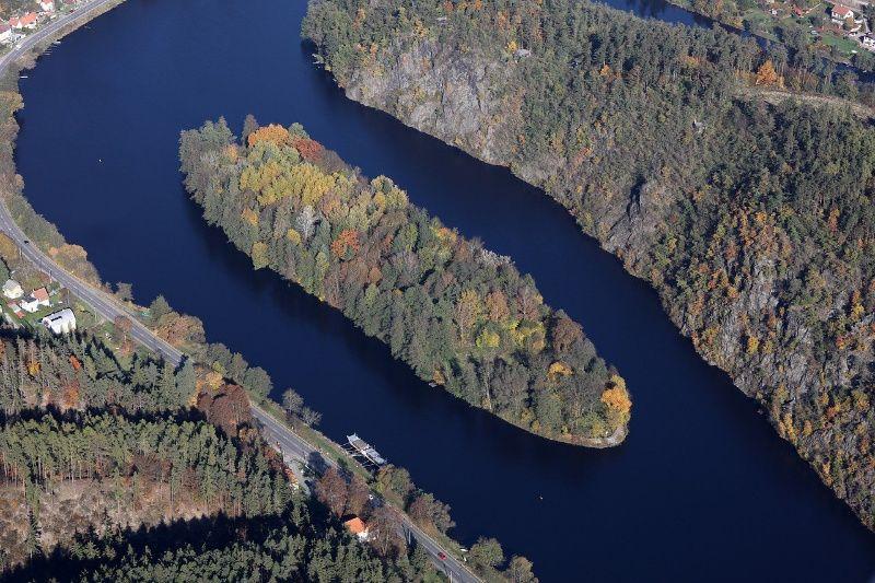 Sázava rivier leukste reisbestemmingen in Tsjechië in 2020