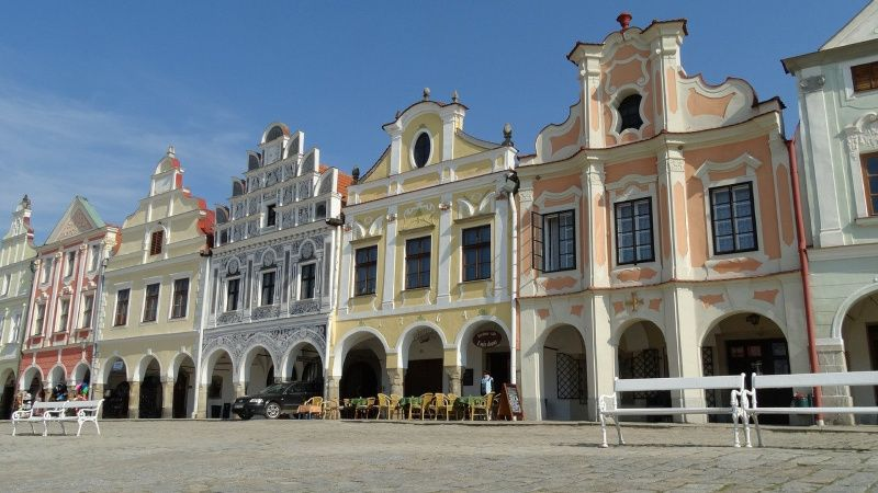 Telč leukste reisbestemmingen in Tsjechië in 2020