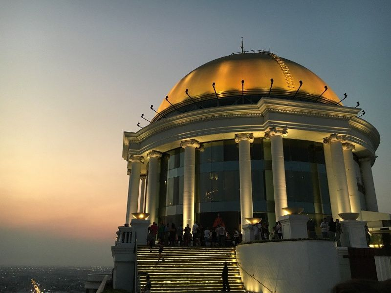 lebua state tower hotel Thailand Bangkok