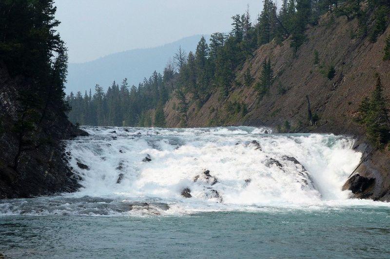 Bow Falls Bow De wonderen van West Canada
