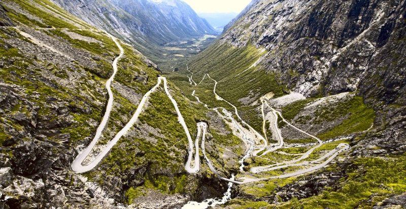 Roadtrip Scandinavië trollstigen Noorwegen