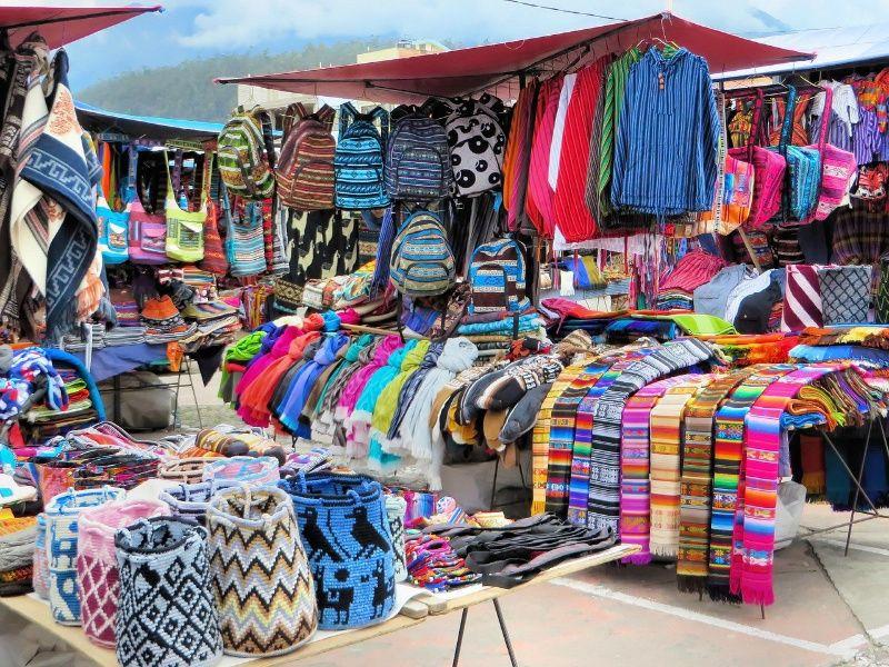 ecuador Otavalo markt