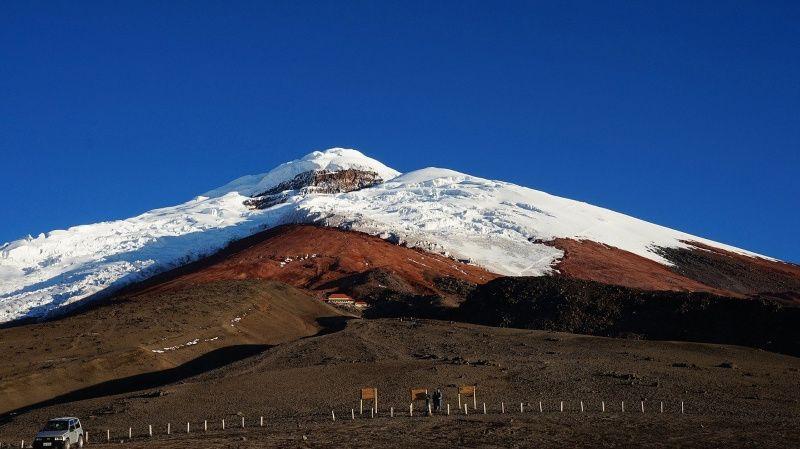 ecuador vulkaan