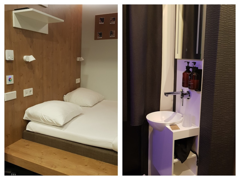 BUNK Hotel Utrecht hotelkamer