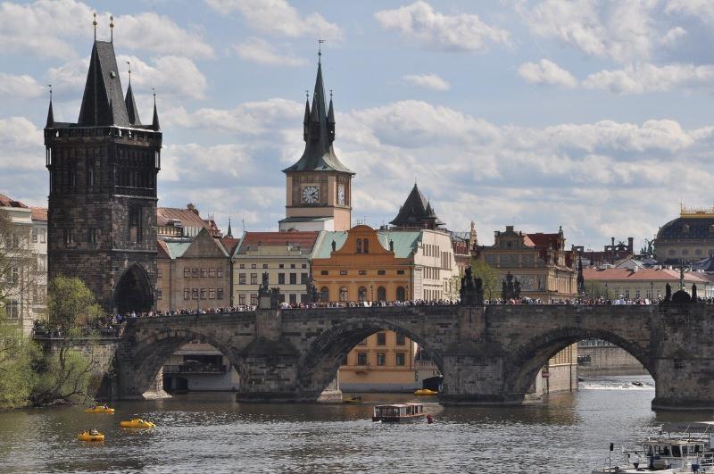 Beroemde filmlocaties in Europa Praag