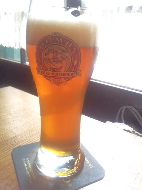 Biermaand in Leuven Domus bier