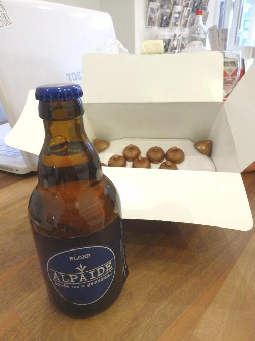 Biermaand in Leuven pairing