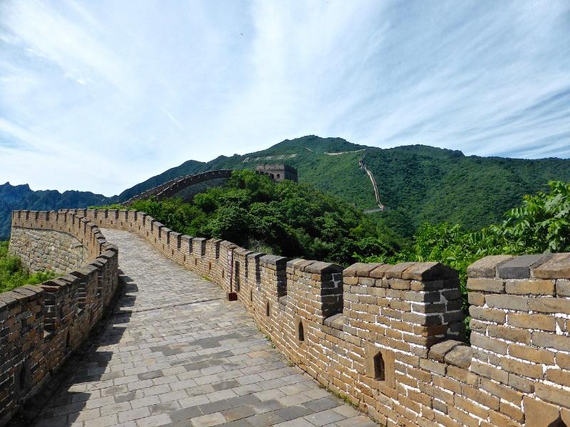 Chinese Muur China Beijing