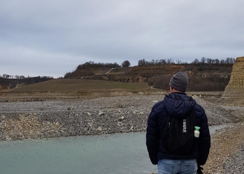 ENCI groeve Maastricht, wandelen rondom de voormalige cementfabriek