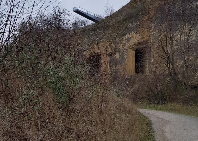 ENCI groeve Maastricht uitzichtplateau