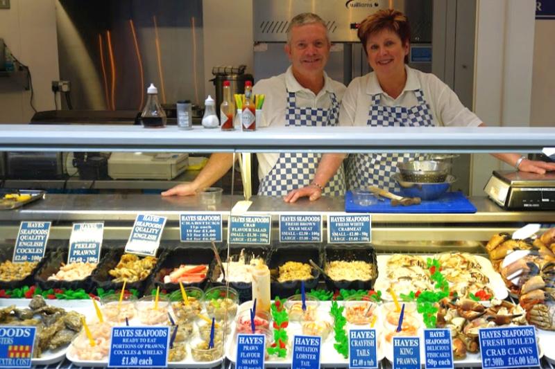 Kirkgate Market Hayes Seafood
