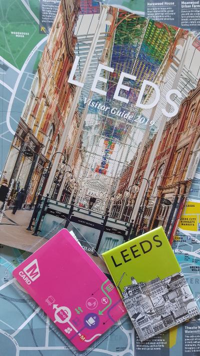 Leeds map Mcard