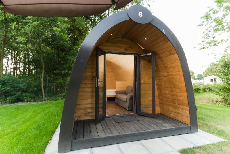 Leistert Cabin Nederland glamping Midden Limburg