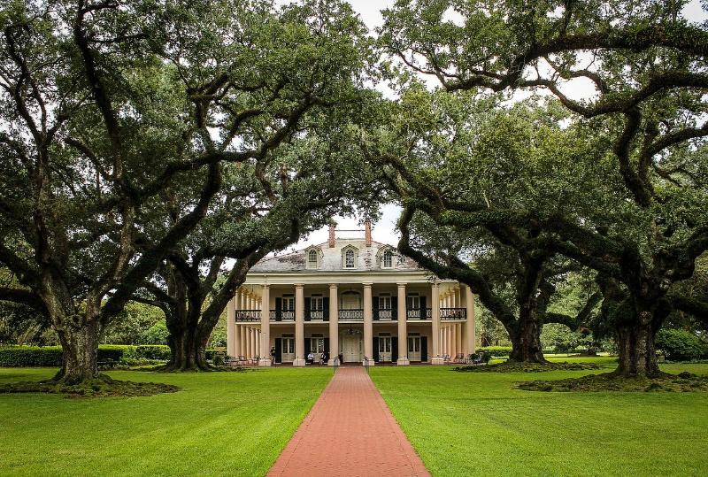 Louisiana plantage huis Verenigde Staten Amerika