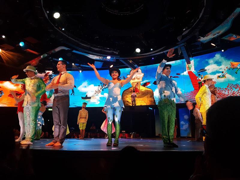 MSC Meraviglia Cirque du Soleil