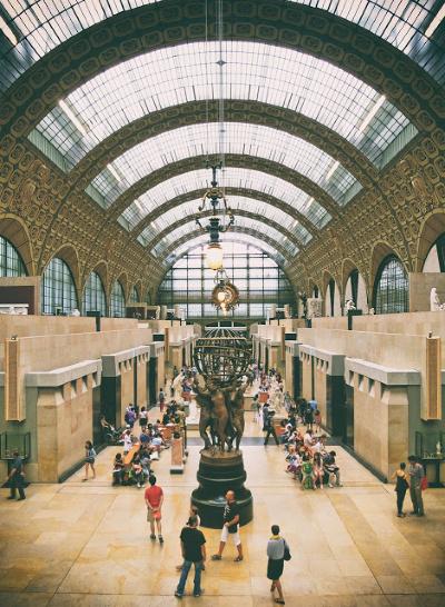 Musée d'Orsay Parijs Frankrijk