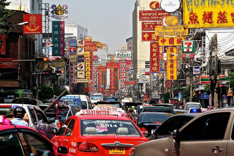 Thailand Bangkok verkeer