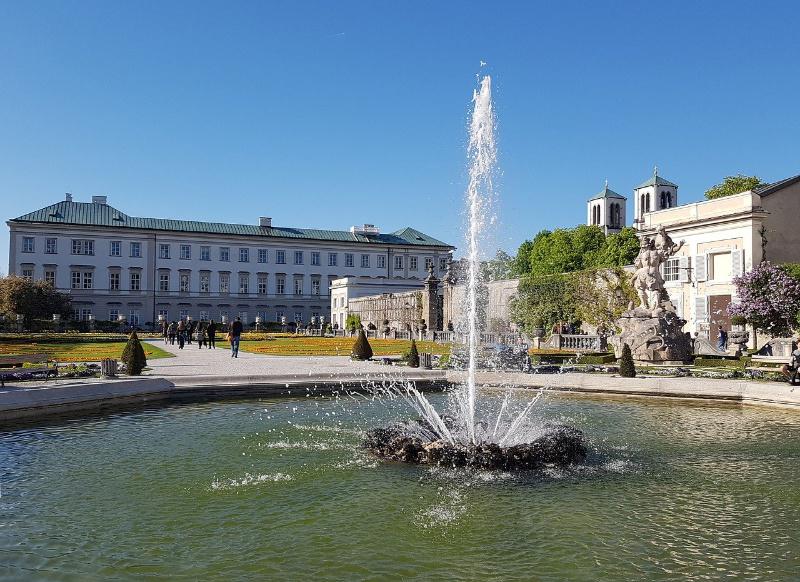 The Sound of Music in Salzburg Oostenrijk