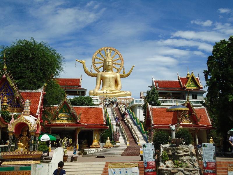 big buddha temple Koh Samui