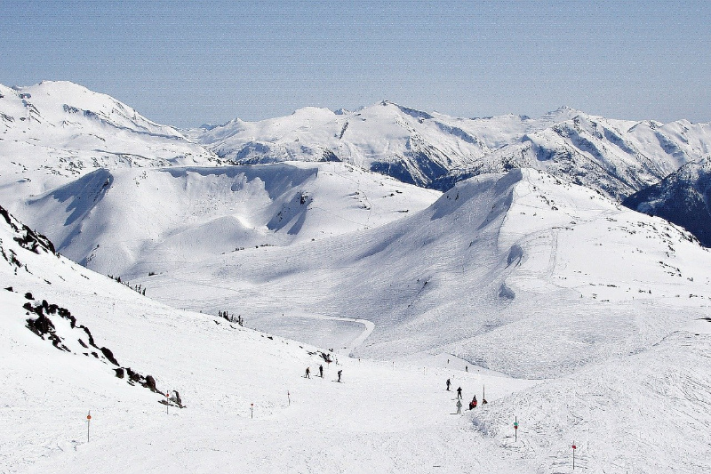 blackcomb Skiën in Canada wintersport