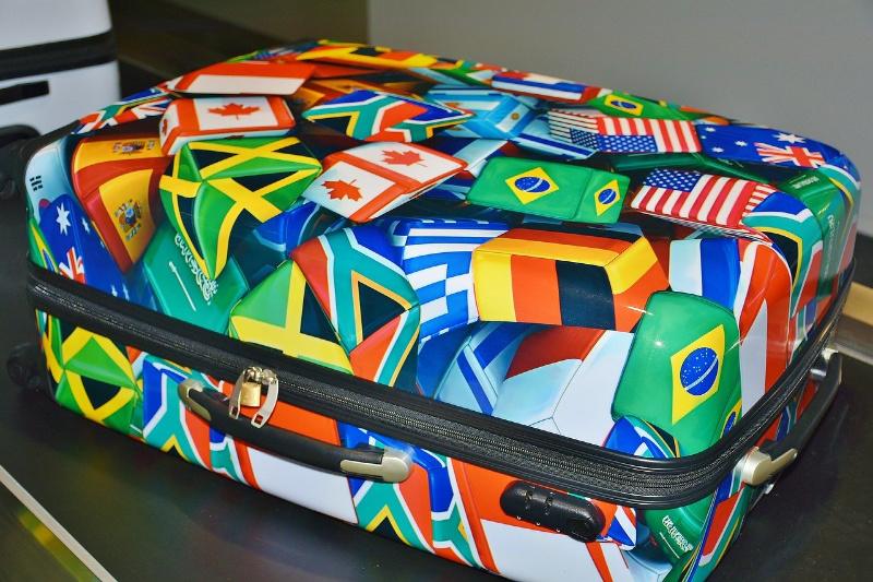 groepsreis koffer bagage