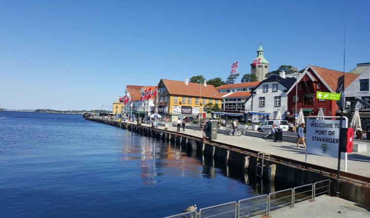 stavanger Noorwegen Holland America Line