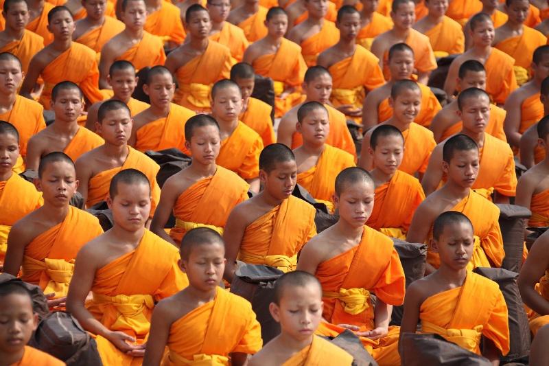 thailand monnik boeddhisme